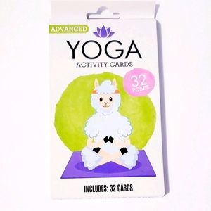 Yoga activity cards - 32 cards